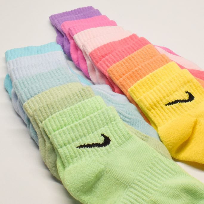 NIKE DYED SOCKS MID PACKS